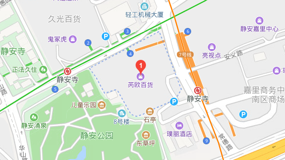 map of shanghai office