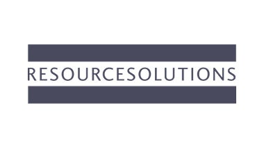 Logo of Resource Solutions, used for <Our brands>